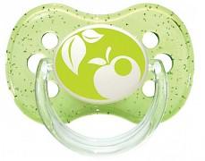 Dudlík zelený NATURE silikonový