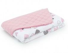 Dětská deka pink heart, LETNÍ