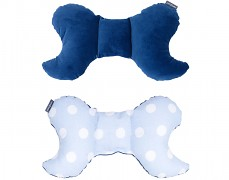 Stabilizační polštářek modrý puntík