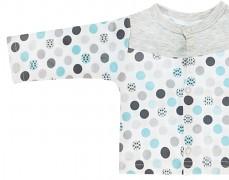 Kojenecká košilka tyrkys bubble