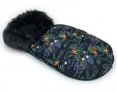 Fusak tropicana s černým kožíškem