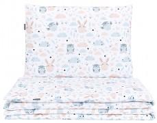 Dětské povlečení šedo-béžová 120x90