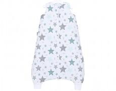 Dětský spací pytel modrý starmix, s nohavičkou 80-98