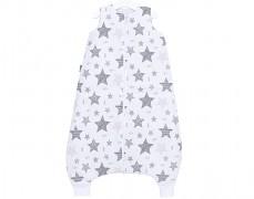 Dětský spací pytel šedý starmix, s nohavičkou