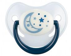 Dudlík modrý NIGHT DREAMS silikonový