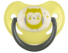 Dudlík žlutý NIGHT DREAMS silikonový