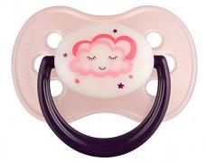 Dudlík růžový NIGHT DREAMS kaučukový