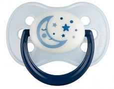 Dudlík modrý NIGHT DREAMS kaučukový