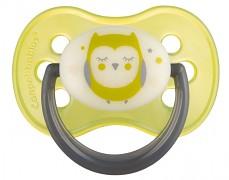 Dudlík žlutý NIGHT DREAMS kaučukový