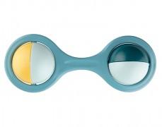 Chrastítko modrá rotující činka