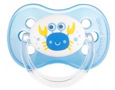 Dudlík modrý Love&Sea kaučukový