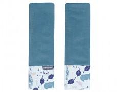 Chrániče na pásy volavky na modrém