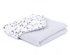 Dětská deka souhvězdí mušelín