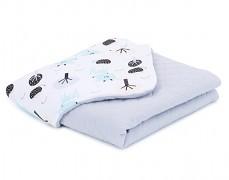 Dětská deka bílá srnka mušelín, LETNÍ