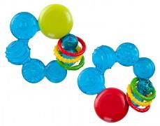 Chrastítko modré bubliny s chladícím kousátkem