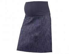 Těhu sukně modrý melír