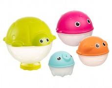 Sada kreativních hraček do vody s dešťovou sprchou OCEAN