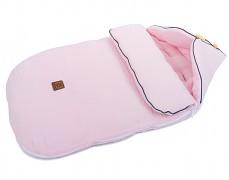 Fusak růžový světlý mušelín