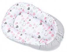 Hnízdečko pink heart, oboustranné