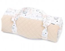 Pikniková deka šedo-béžová