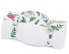 Pikniková deka bílá kapradina