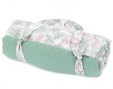 Pikniková deka květy a llisty