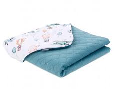 Dětská deka Ve vzduchu velvet, LETNÍ