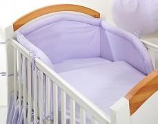 Dětské povlečení fialová srdíčka