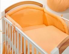 Dětské povlečení oranžové