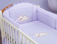 Dětské povlečení fialový snílek