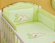 Dětské povlečení zelený Snílek