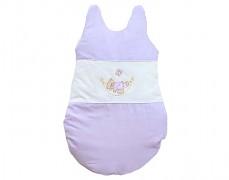 Dětský spací pytel fialová houpačka