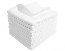 Bavlněné bílé tetra pleny 70x80 10ks