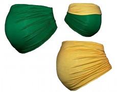 Těhu pás zeleno-žlutý oboustranný