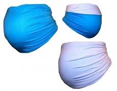 Těhu pás modro-bílý oboustranný