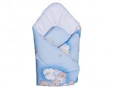 Zavinovačka modrá se spícími medvídky