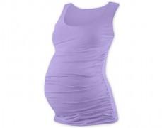 Těhotenský sv.fialový top