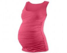 Těhotenský růžový top