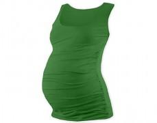 Těhotenský zelený top