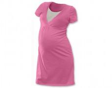 Kojící noční košilka růžová