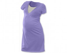 Kojící noční košilka sv.fialová