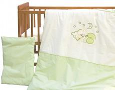 Dětské povlečení zelený Měsíček