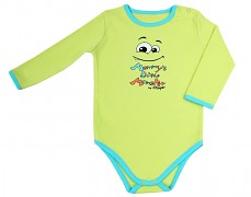 Body zelené Mommy´s Little Monster vel.62