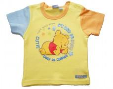 Tričko žluté Disney s medvídkem Pooh