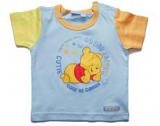Tričko modré Disney s medvídkem Pooh vel.80
