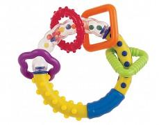 Chrastítko barevný kroužek