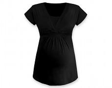 Těhotenská tunika Anička černá