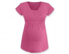 Těhotenská tunika Anička růžová