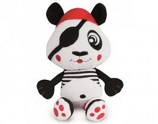 Plyšová vibrační panda Piráti