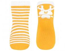 Ponožky žluté zajíček 12m+